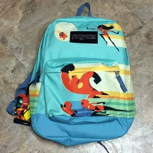 Jansport Incredibles 2 backpack new with tags!